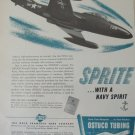1950s Ostuco Tubing / McDonnell F2H Banshee ad