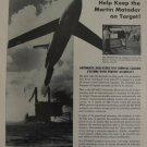 DTI-MCO Martin Matador cruise missile ad 1950s