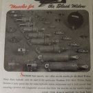 WWII Bendix Aviation / Northrop P-61 Black widow ad