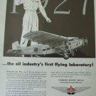 1950s Standard Oil Company / Ford Tri-Motor ad