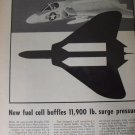 B.F. Goodrich / Douglas F4D skray jet fighter ad