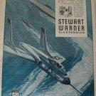1950s Stewart Warner Electronics /F7U Cutlass / USS Franklin D. Roosevelt ad