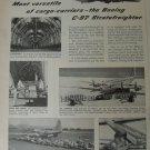 Boeing C-97 Stratofreighter ad