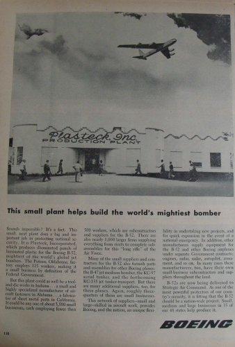 1950s Boeing B-52 Stratofortress ad