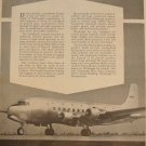 PPG / Douglas DC-6 ad