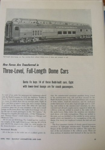 1950s Budd domeliners for the Santa Fe article