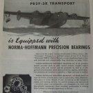 WWII 1944 Norma-Hoffmann PB2Y-3 Coronado flying boat ad