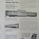 International Nickel / Canadian Pacific stainless steel passenger car ad