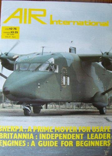 Air international Nov 1984 Shorts C-23 Sherpa  Handley Page Hampden