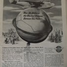 WWII 1945 Martin Mars flying boat ad