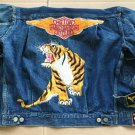 VTG 1950s Levis 507XX Denim Jacket Big E Single Stitch Selvedge Harley Davidson