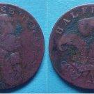 Brighton England 1794 halfpenny token George Prince of Wales