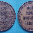 Evergreen Park IL 75th Anniversary 1968 souvenir half dollar