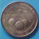 California State Numismatic Association CSNA Fall 1967 medal - Orange County