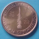 California State Numismatic Association CSNA Spring 1969 medal - The Tall Tree