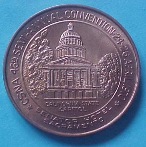 California State Numismatic Association CSNA Spring 1970 - California State Capitol