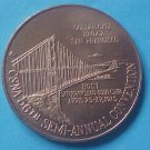 California State Numismatic Association CSNA Sprin 1975 medal - Golden Gate Bridge