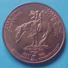 California State Numismatic Association CSNA Spring 1982 medal - End Of The Trail