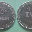 Brainerd MN Hitch Realty Company 50th Anniversary 1960 medal