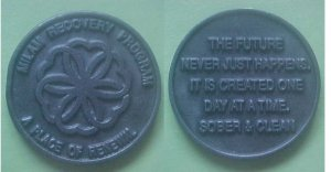 Seattle area WA - Milam Recovery Program medal