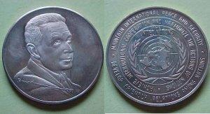 United Nations - undated Dag Hammarskjold medal