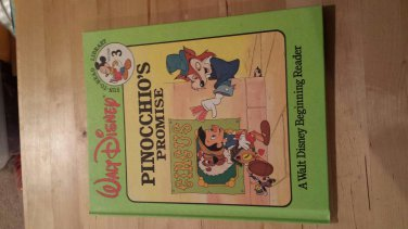 Pinocchio's Promise Walt Disney Beginning Reader Fun-To-Read Vol. 3 1986
