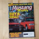 Mustang Monthly Magazine Car April 1991 Pony Vehicle