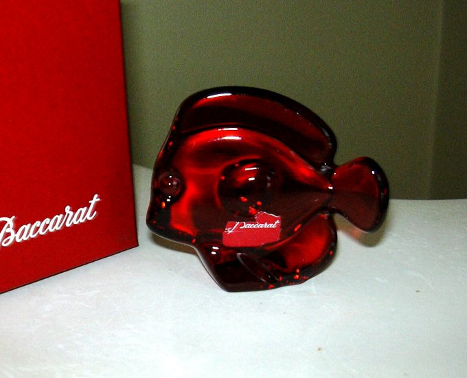BACCARAT LUCKY FISH RUBY