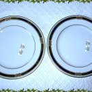 FABERGE MONARCH BREAD & BUTTER PLATES SET OF 2