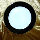 PHILIPPE DESHOULIERES ATHOS BLACK SALAD PLATE