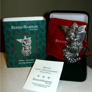 Reed & Barton Sterling Silver Angel Ornament 2nd