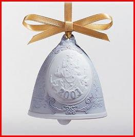 Lladro 2003 Annual Bell Ornament