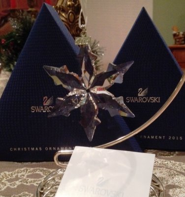 Swarovski 2015 Annual Star Ornament