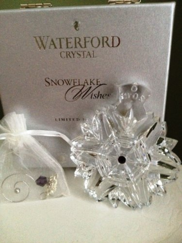 Waterford Snowflake Wishes for Health Ornament