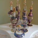 Egyptian Perfume Bottles Set of 9