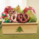 High Sierra Christmas Crate Gift Basket