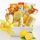 Valentine Citrus Classic Spa Gift Basket Christmas gift for her & Mom