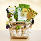 Valentine Deluxe Gardener's Delights Crate Christmas Holiday Gift Basket For Her
