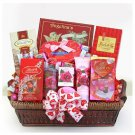 Be Mine Spa and Chocolate Valentines Basket Gift For Her