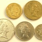 Circulated Australian Coins