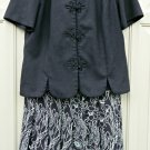LESLIE FAY 2 Piece Skirt Suit*Size 10P*Short Sleeve Top*Fully Lined Skirt*