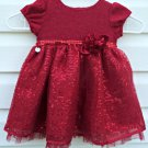 Sweet Heart Rose Girls' Dress*Short Sleeve*Size 18M*