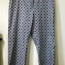 Charter Club Katherine Fit Cropped Pants*2 Back Pockets*Cotton/Spandex*Size 12
