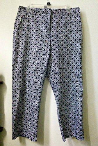 Charter Club Katherine Fit Cropped Pants*2 Back Pockets*Cotton/Spandex*Size 12
