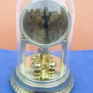 COMMODORE Dome Clock*Gold Tone*Quartz*Hong Kong*Musical Chimes*8'' Tall