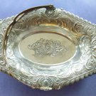 Silver Bronze Dish with Handle*Tray*7''X 5''