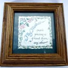 Audrey Jeanne Roberts Еncauraging Words My Mother Print- Quote Calligraphy