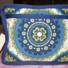 $50  8 X 10 Inch Ladies Shoulder Bag - Blue Madelyn