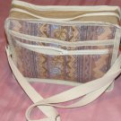 $50  Ladies Shoulder Bag - Tan South West Floral