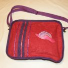 $33.50  Red Hat Ladies – One Of A Kind Red Plush Soft Sided Shoulder Bag 9 X 12 Inches